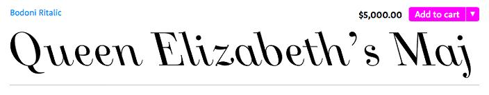 JHA Bodoni Ritalic Font
