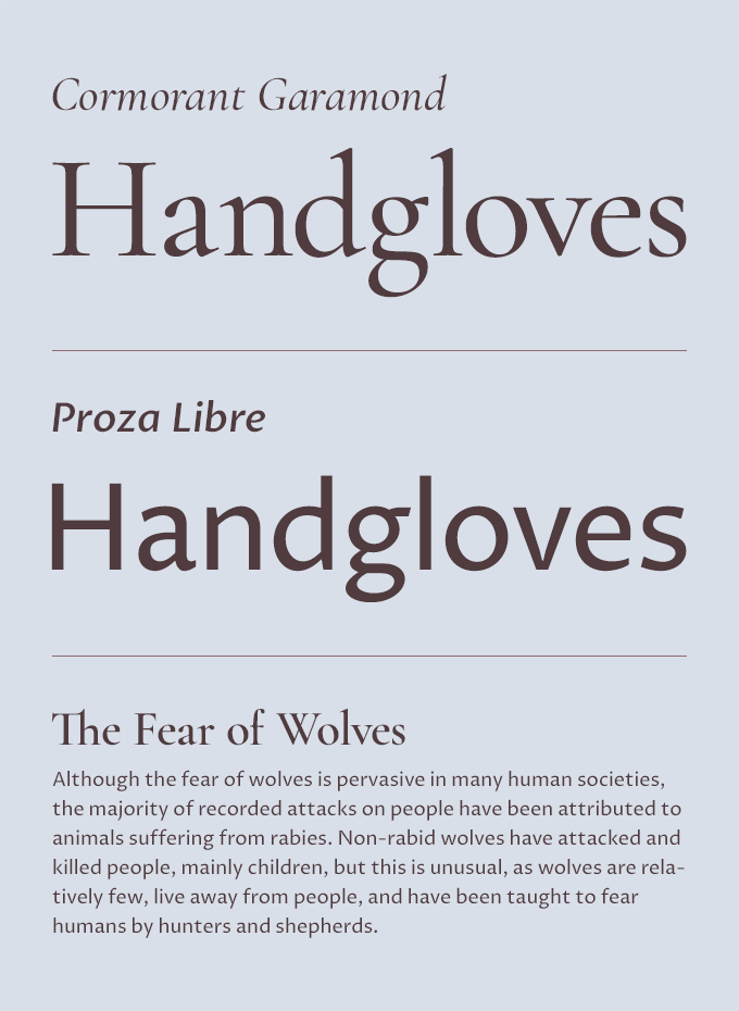 Five Fresh Headline & Body Text Pairings on Google Fonts