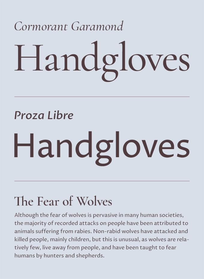 Five Fresh Headline & Body Text Pairings on Google Fonts · Typewolf