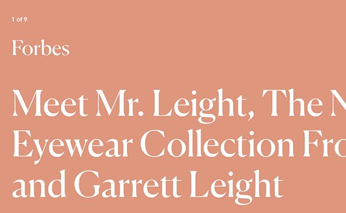 Mr. Leight