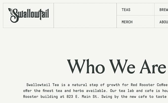 Swallowtail Tea