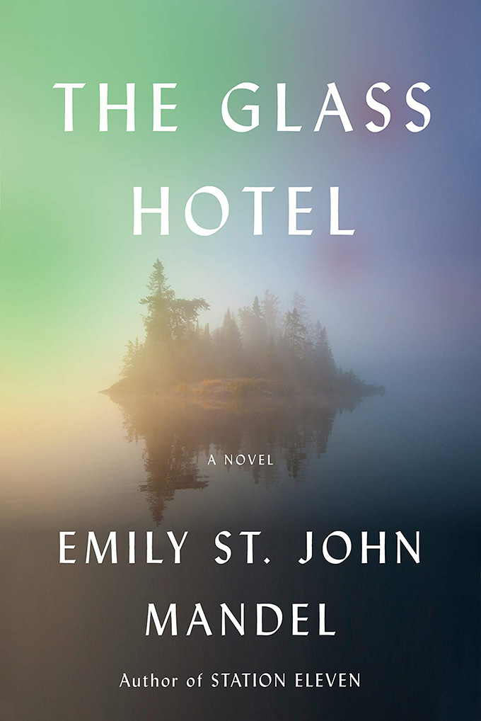 The Glass Hotel book cover font