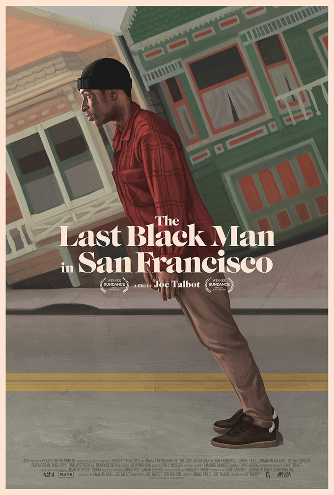 The Last Black Man in San Francisco font