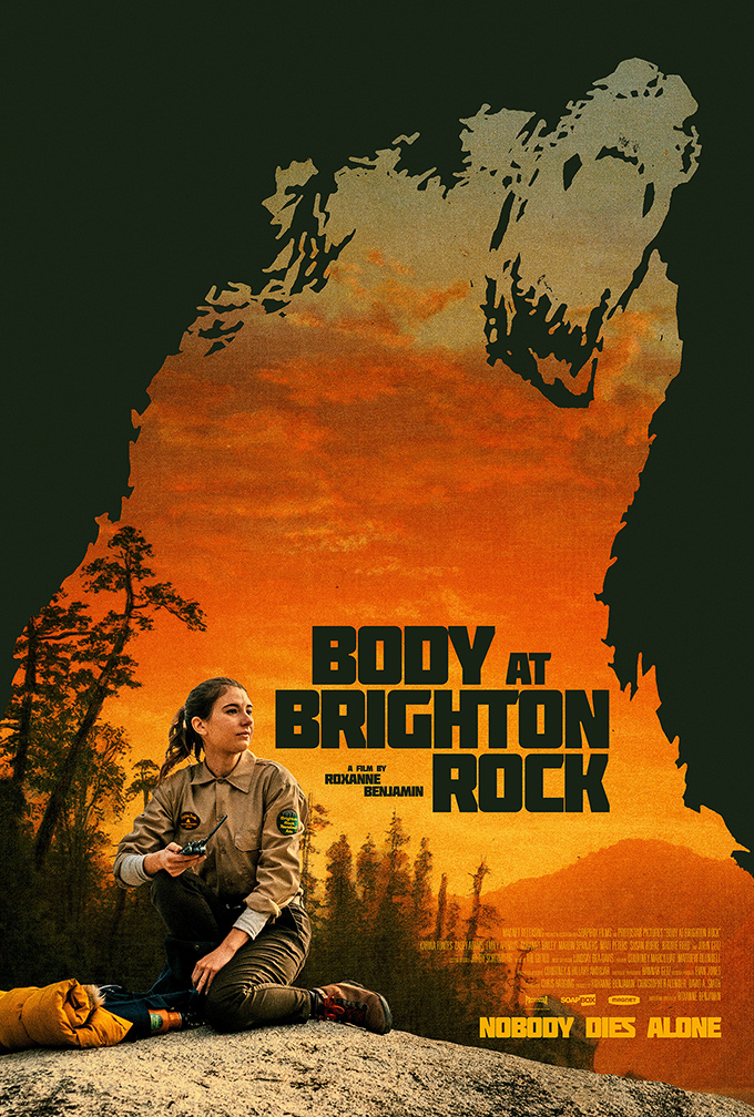 Body at Brighton Rock font