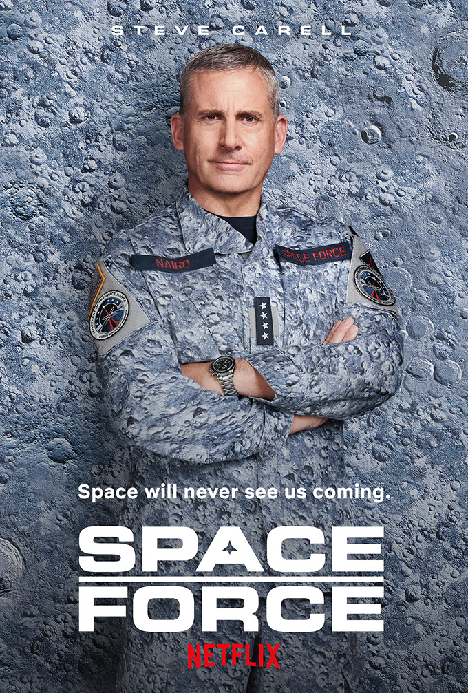 Fonte Space Force Netflix