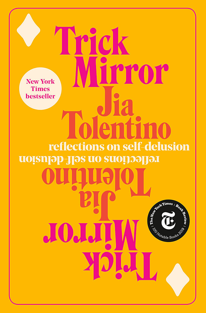 Trick Mirror book cover font