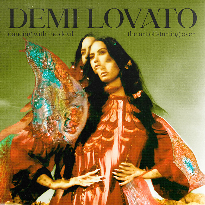Demi Lovato Dancing With the Devil font
