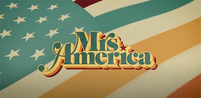Mrs America font