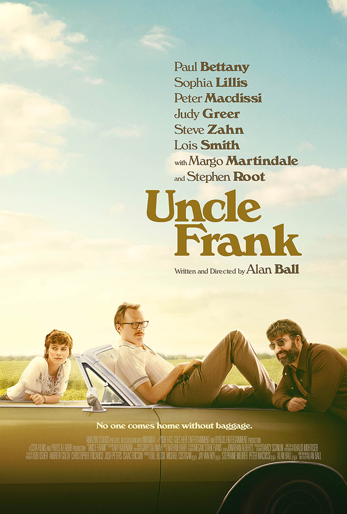 Uncle Frank movie font
