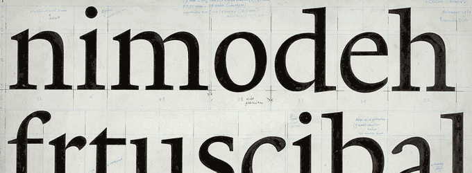 TEFF Lexicon—The World's Most Expensive Typeface