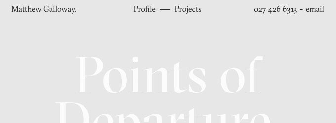 The Typographic Details Behind Typewolf's Favorite Sites of April 2015