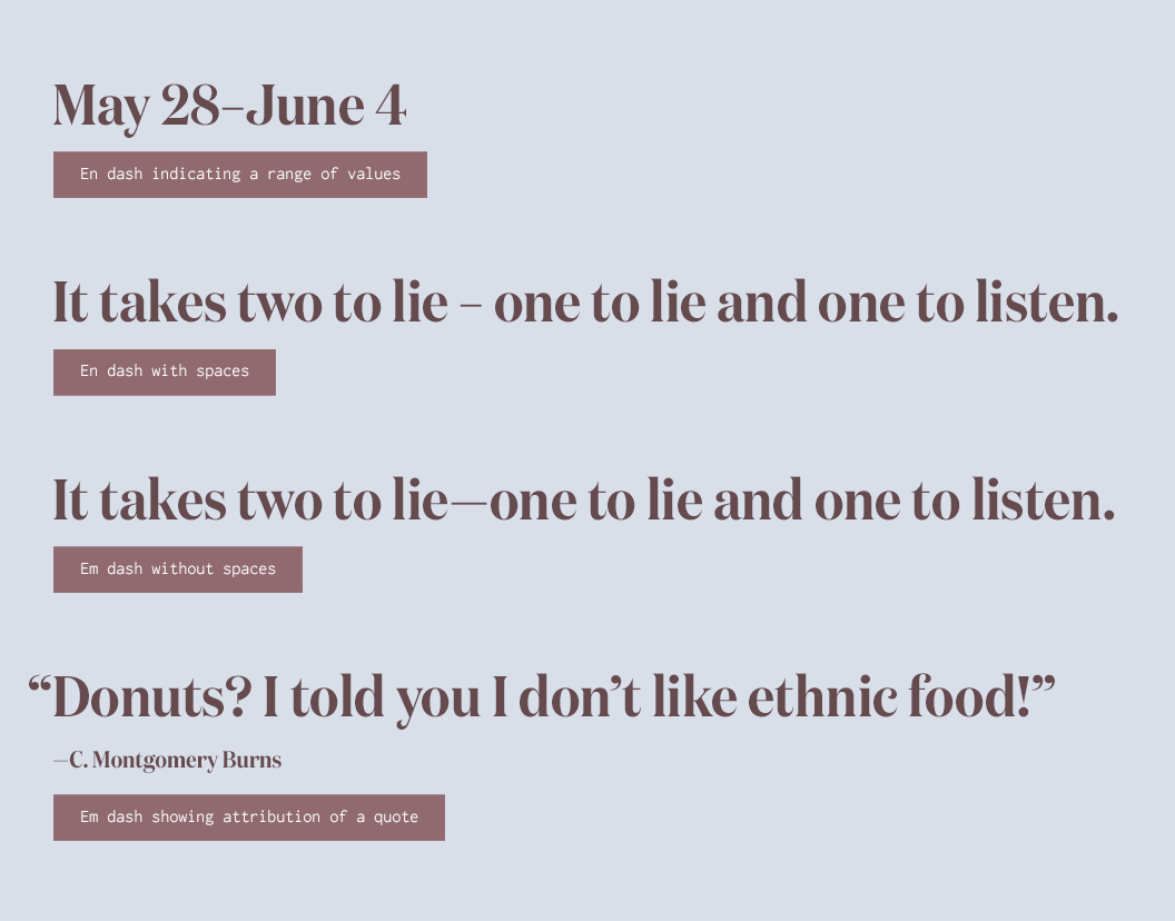 Typography Cheatsheeta Comprehensive Guide To Smart Quotes Dashes