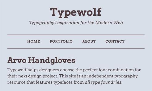 The 40 best google fontsa curated collection for 2018 typewolf arvo font sample altavistaventures Gallery