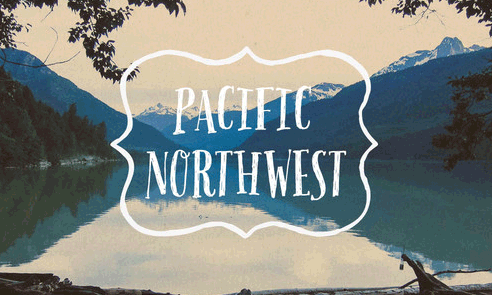Pacific Northwest Letters Font Sample