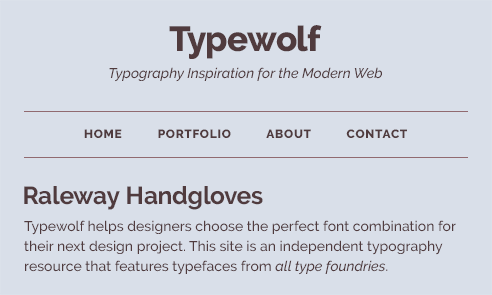 The 40 Best Google Fonts A Curated Collection For 2018 Typewolf