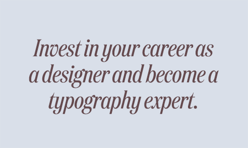 Flawless Typography Checklist