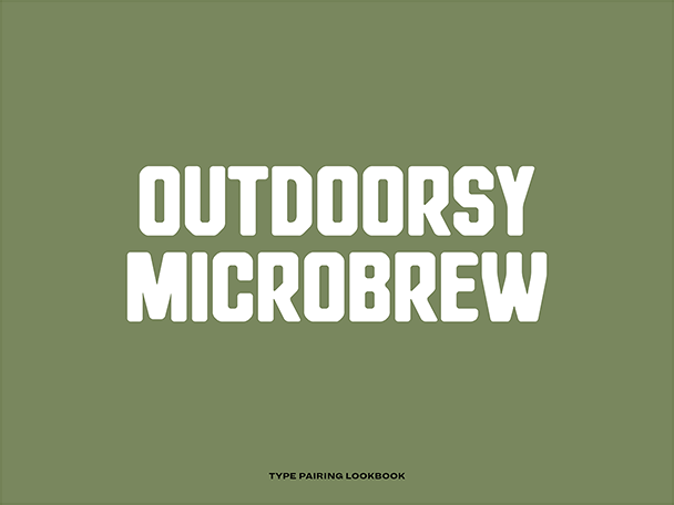 Outdoorsy Microbrew Cover