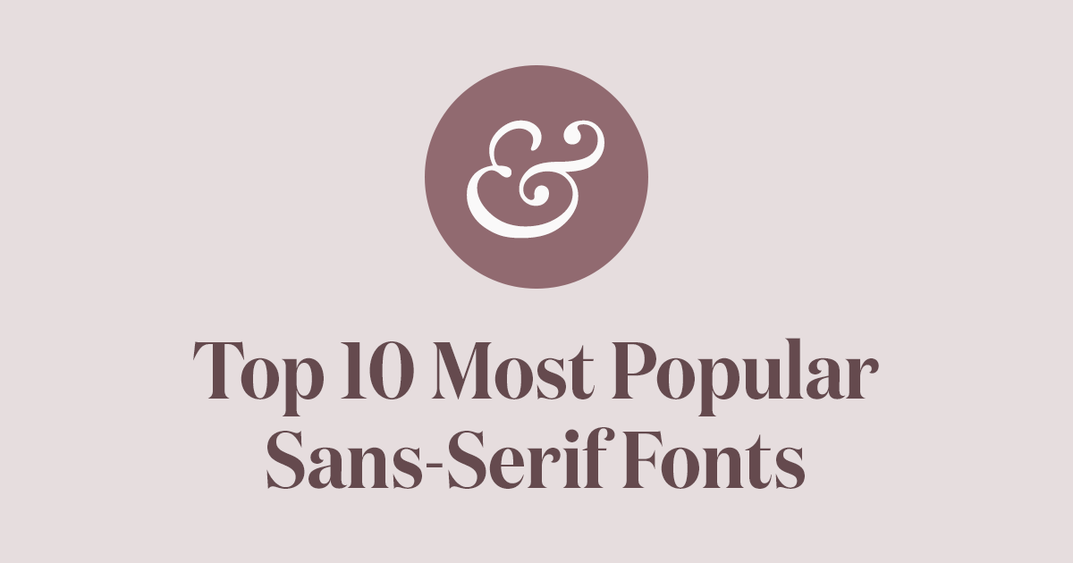 the most popular font types in america infographic venngage