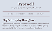 Top 40 Google Fonts