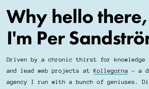 Futura and Anonymous Pro Font - Per Sandstrom