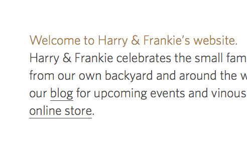 Harry & Frankie