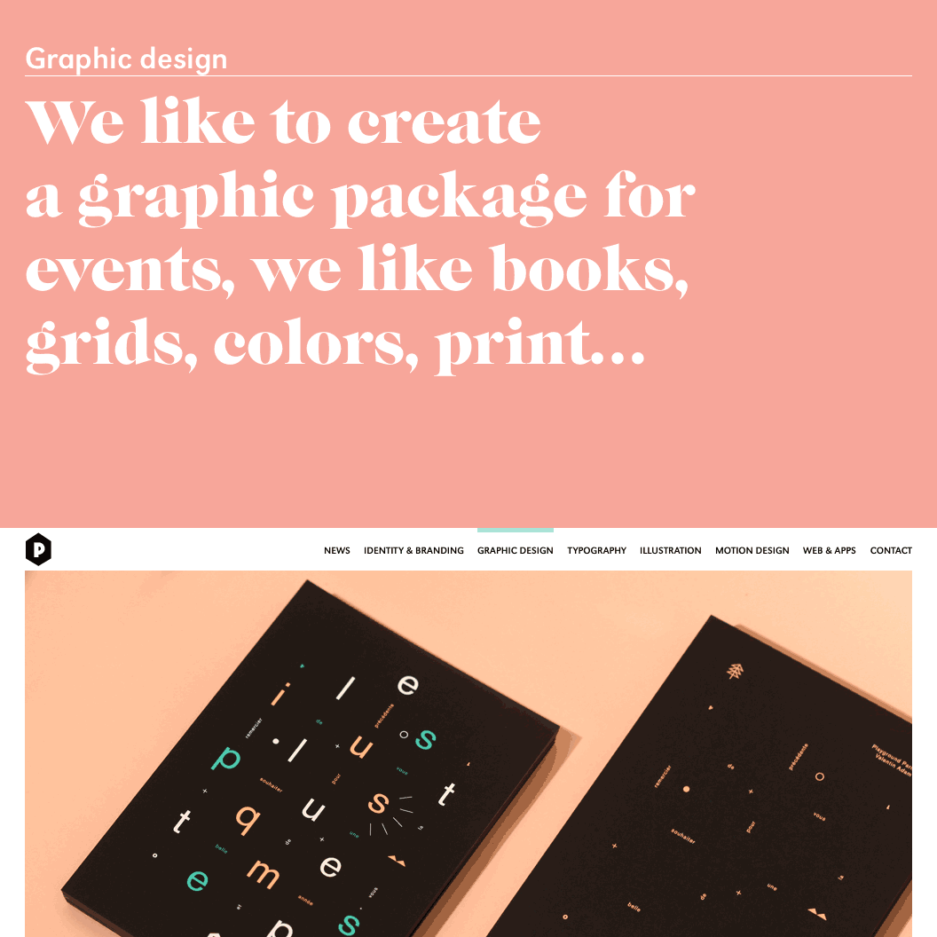 Fonts Used: Caslon Graphique and URW Grotesk · Typewolf Typography Inspiration