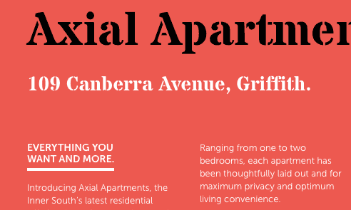 Axial Apartments