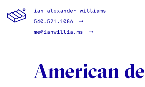 Ian Alexander Williams