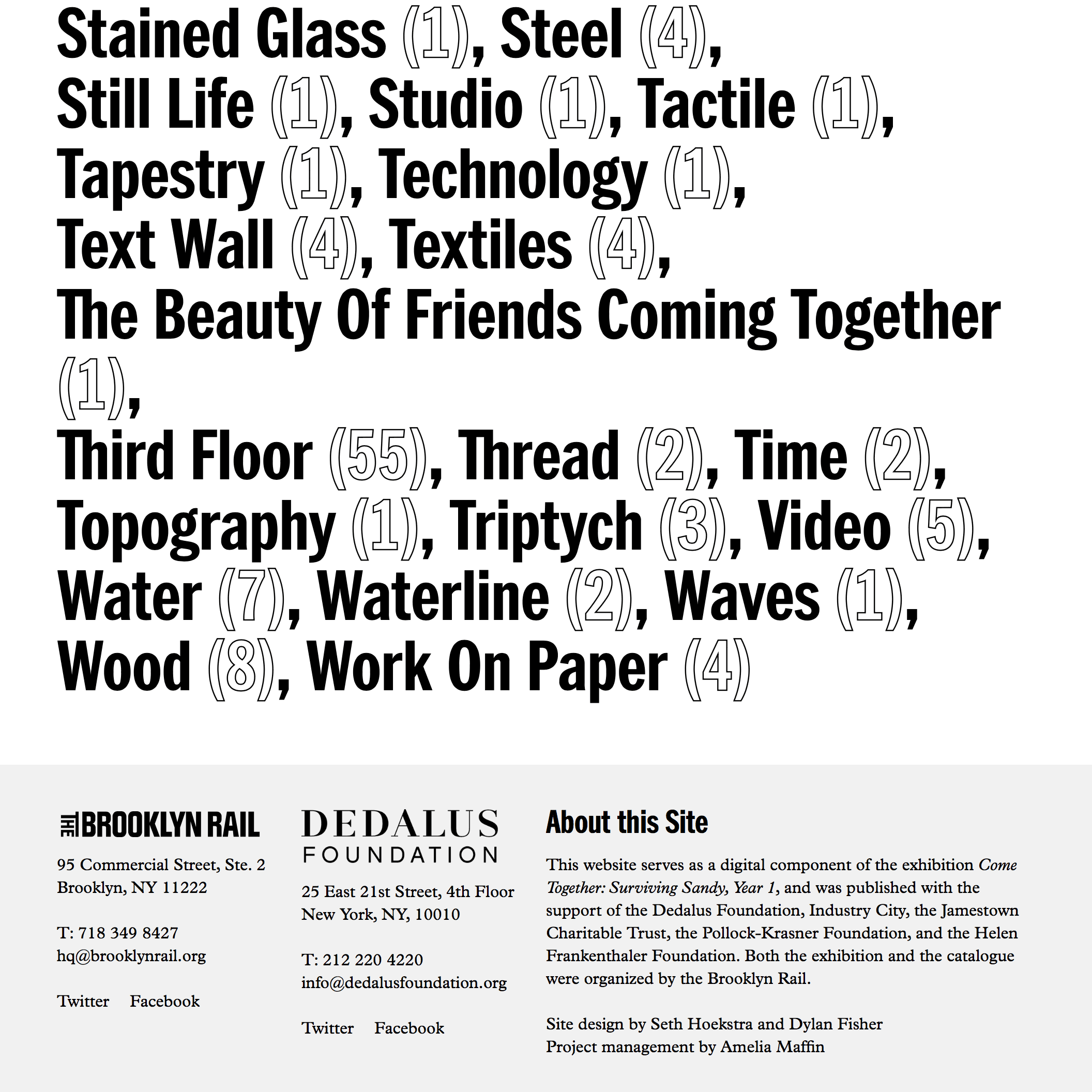 Fonts Used: Franklin Gothic and Plantin · Typewolf Typography Inspiration