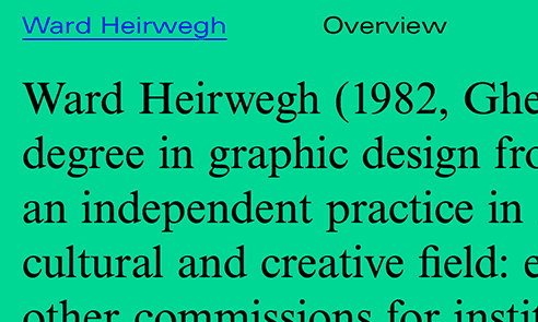 Ward Heirwegh