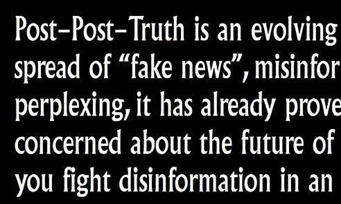 Post-Post-Truth