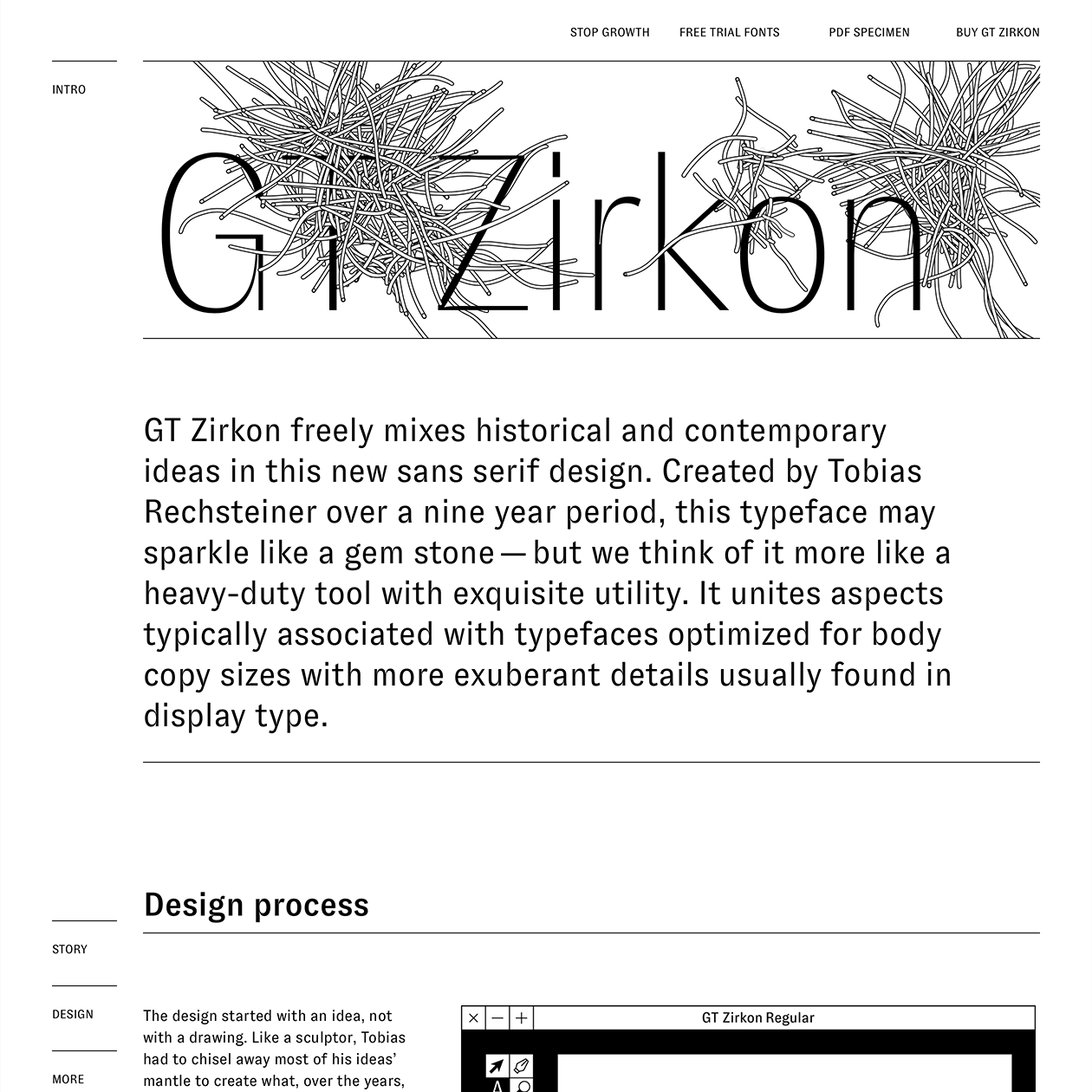 Fonts Used: GT Zirkon · Typewolf Typography Inspiration