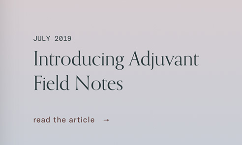 Adjuvant Capital
