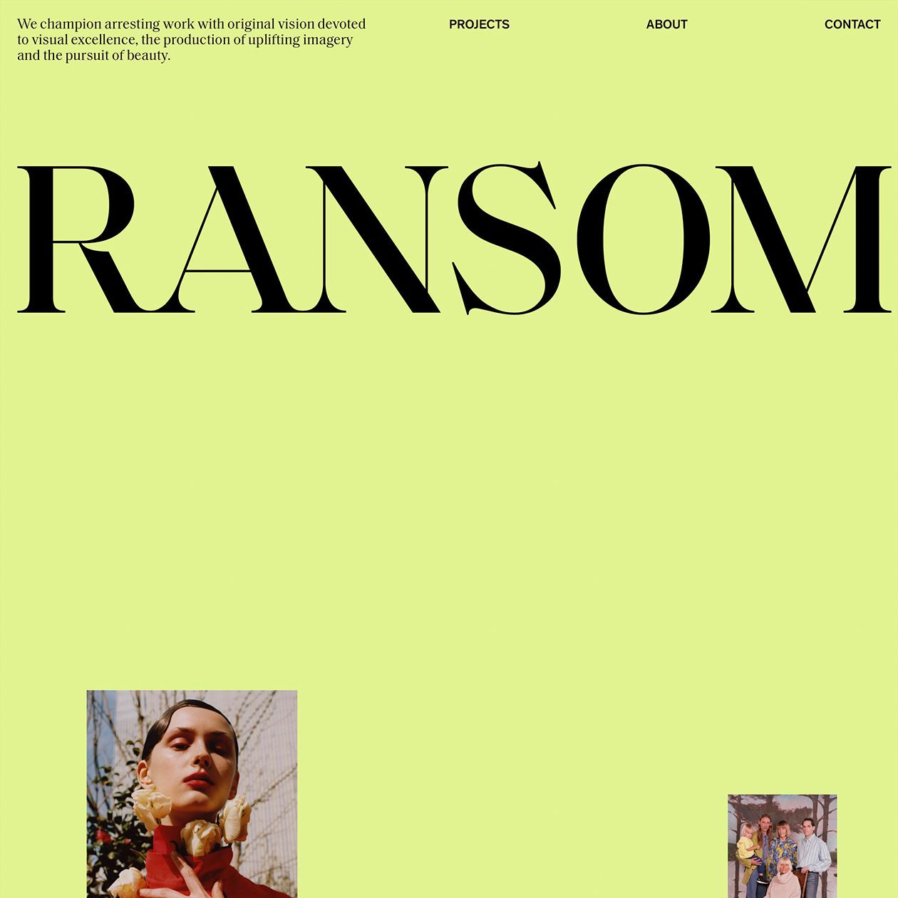 Ransom Ltd · Typewolf