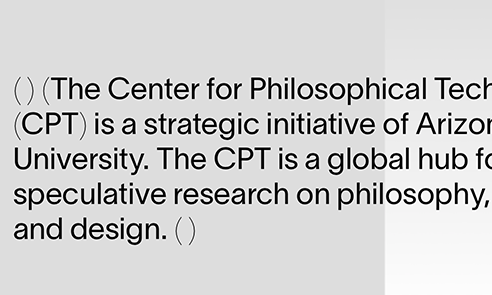 Center for Philosophical Technologies