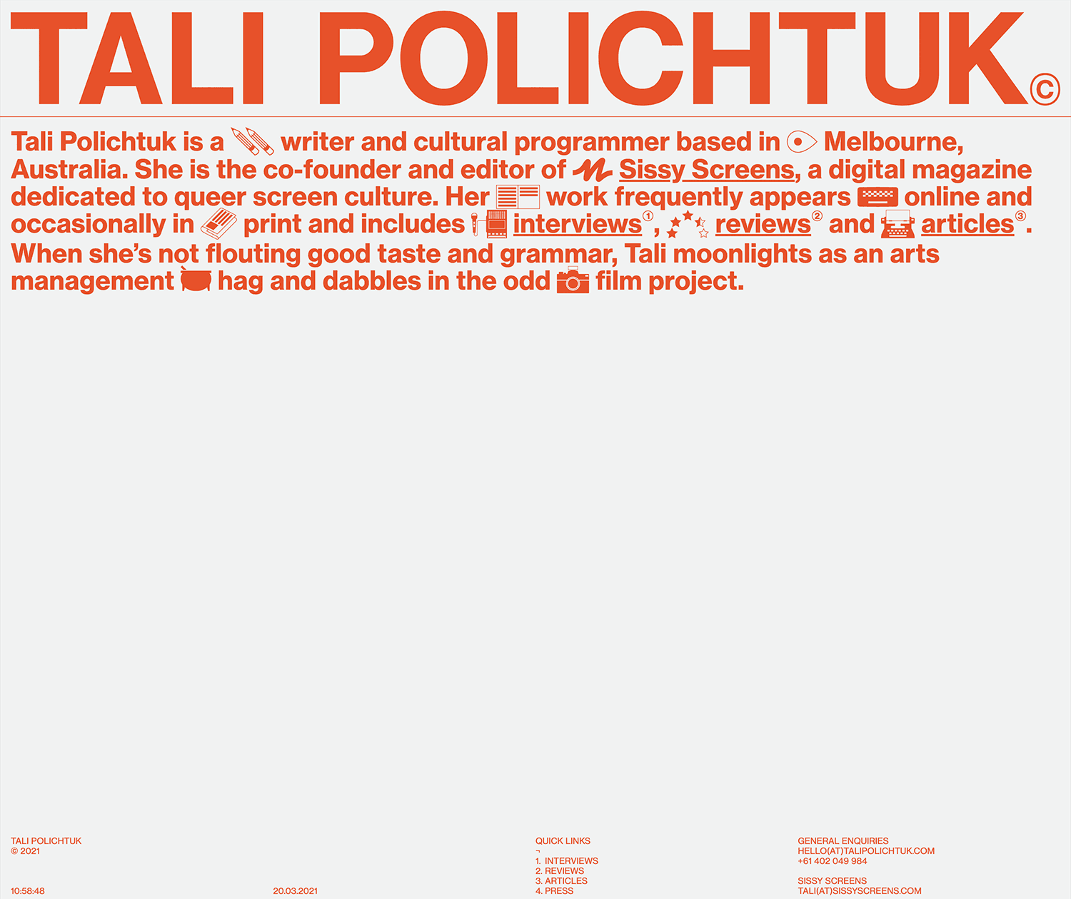 Fonts Used:         Neue Haas Grotesk · Typewolf Typography Inspiration