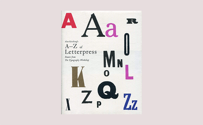 Alan Kitching's A–Z of Letterpress book cover