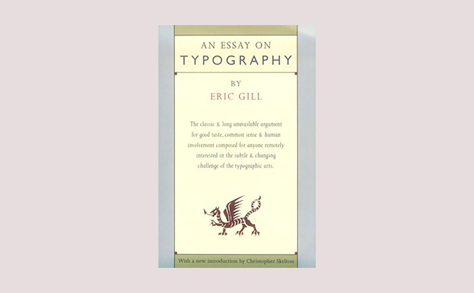 An Essay on Typography book cover