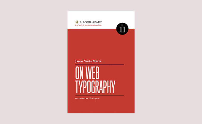 On Web Typography book cover
