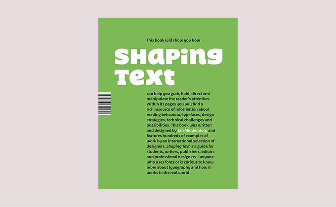 Shaping Text book cover