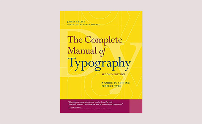 The Complete Manual of Typography book cover