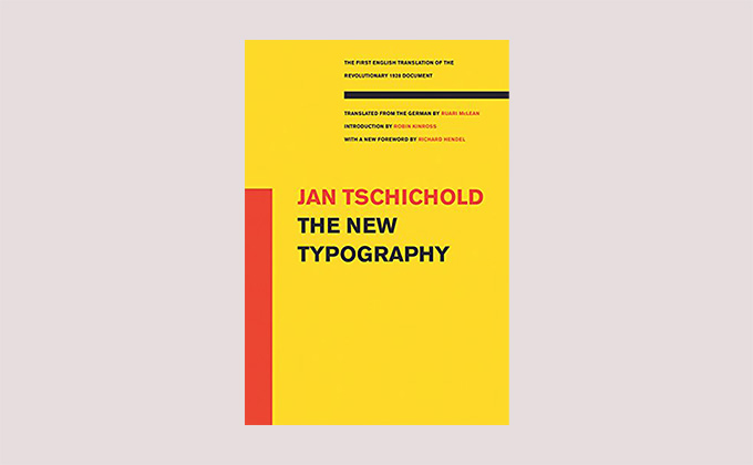 The New Typography book cover