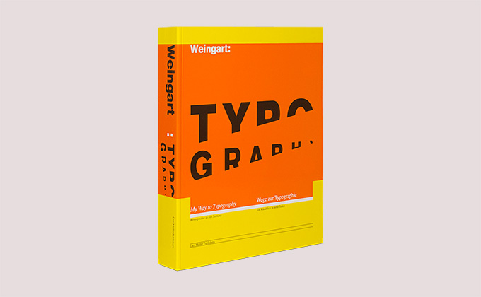 Weingart: Typography book cover