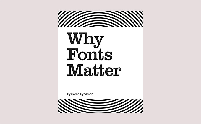 Why Fonts Matter book cover